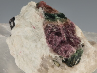 Watermelon Tourmaline & Albite