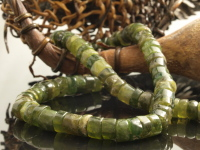 Green Garnet Bead Necklace