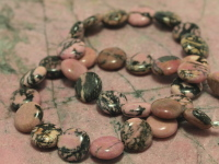 Rhodonite Bead Necklace