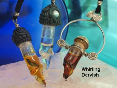 Cassiel Perfume in Whirling Dervish Pendant